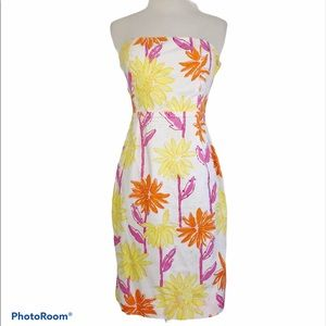 Vintage Lilly Pulitzer Day and Night Floral Dress